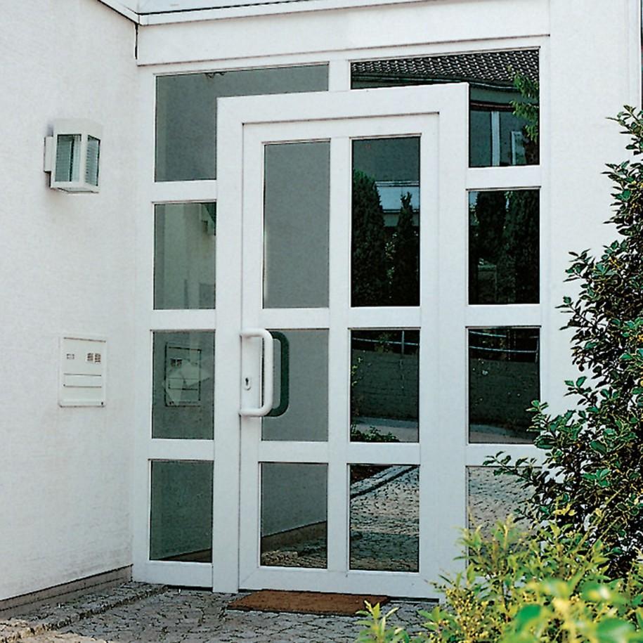Металлопластиковые двери из профиля rehau 70 мм. : окна от з.